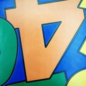 פי וי סי לחדרי ילדים דגם מספרים