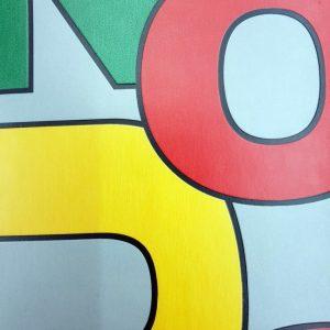 פי וי סי לחדר ילדים דגם מספרים צבעוני 1