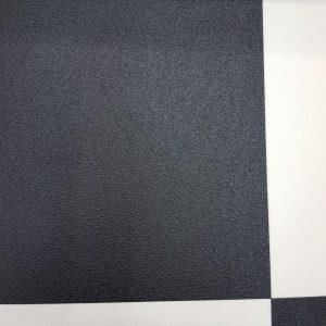 פי וי סי וינטאג' אריח מרובע שחור לבן